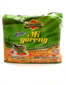 Multi Pack Ibumie Mie Goreng Noodles (Prawn/Sambal Udang) | Buy Online at the Asian Cookshop